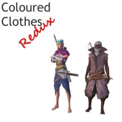 Coloured Clothes Redux - Kenshi мод