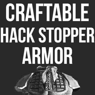Craftable Hack Stopper Armor - Kenshi мод