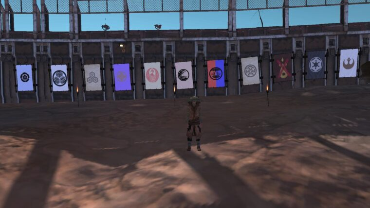 Custom banners — Japanese Crests, GoT houses, SW, Skryim, Chaos, Celtic, Anarchy - Kenshi мод (изображение 5)