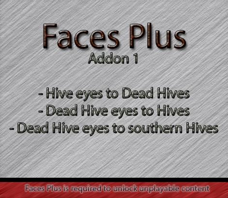 Faces Plus Addon 1 ~Hives eyecolor texturepack~ - Kenshi мод