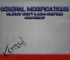 GenMod — Military Craft — AOM Crafting — More Combat Animation compatibility - Kenshi мод