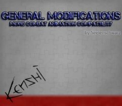 GenMod — More Combat Animation Compatibility - Kenshi мод