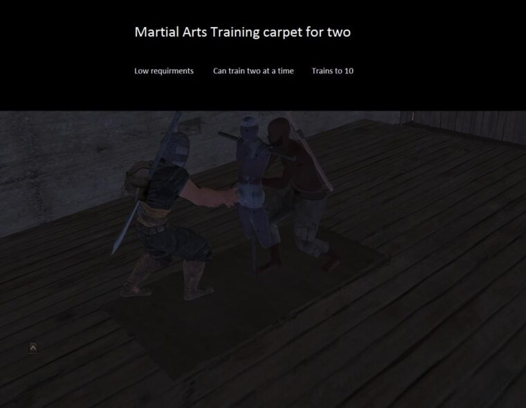 Martial Arts Training carpet - Kenshi мод