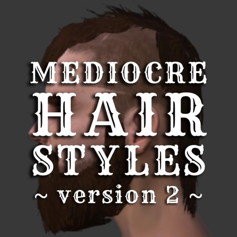 Mediocre Hairstyles (Version 2) - Kenshi мод