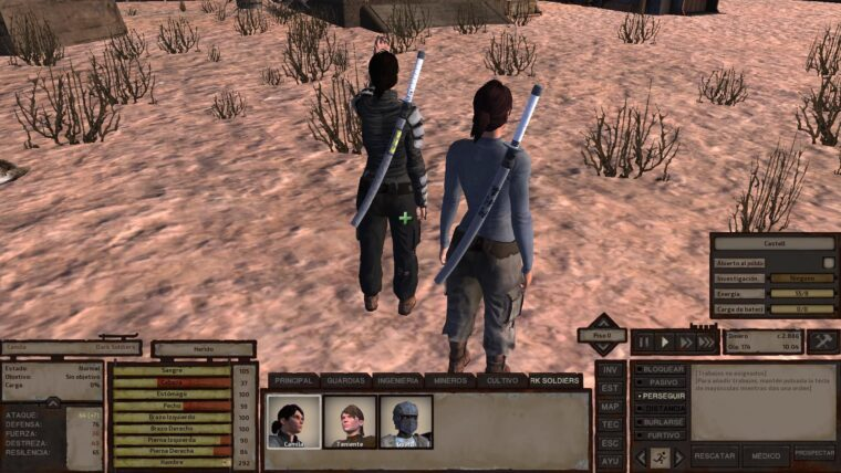 Modified weapons category - Kenshi мод