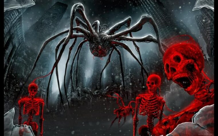 Mutant Blood Spiders (Swamp) - Kenshi мод