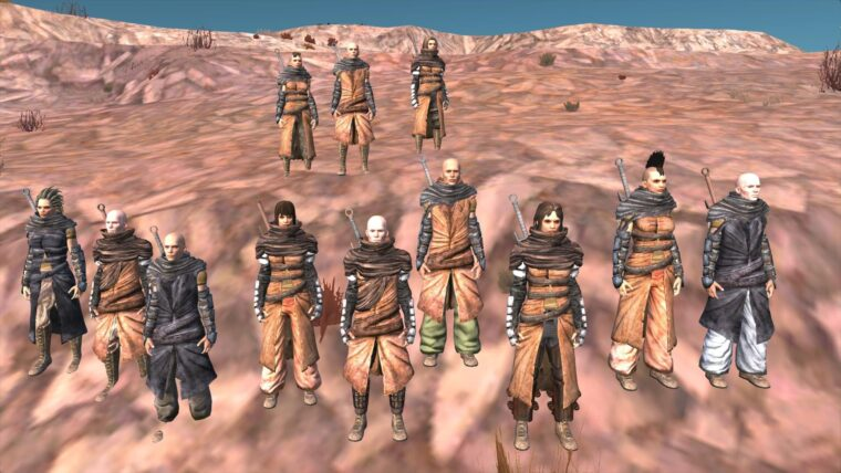 Patch for Fixing Clipping issues and Dread's Gear - Kenshi мод
