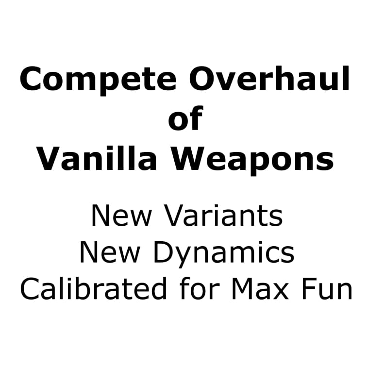 Weapons Overhaul For Max Fun - Kenshi мод